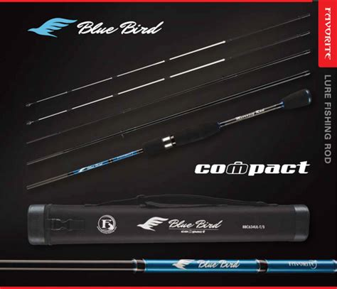favorite blue eurolures canne spinning favorite blue bird compacte bbc