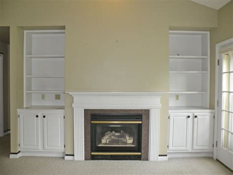 Gas Fireplace Built In by And Gas Fireplace With Built Ins This Home