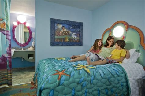 mermaid room of animation phase of disney s of animation resort the mermaid opens september 15th