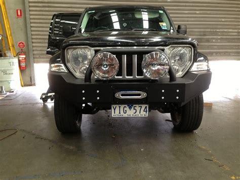Jeep Liberty Kk Light Bar Jeep Kk Bull Bar Uneek 4x4 Pty Ltd