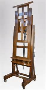 Studio Easel studio easel from the studio of william crosbie antiques