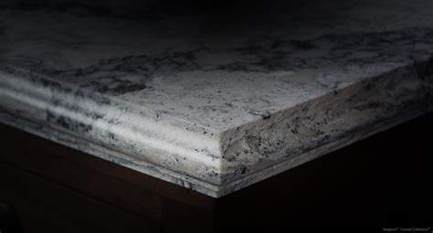 White Kitchen Island With Granite Top edge profiles cambria quartz stone surfaces