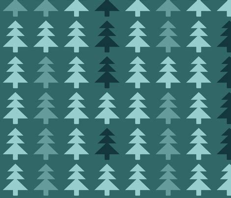 christmas tree fabric pattern christmas trees pattern fabric bluelela spoonflower