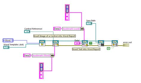 labview ni report generation toolkit using word templates