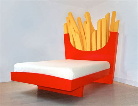 supersized fry beds fast food bed