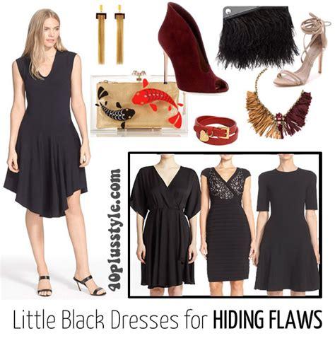 wear   black dress   body type
