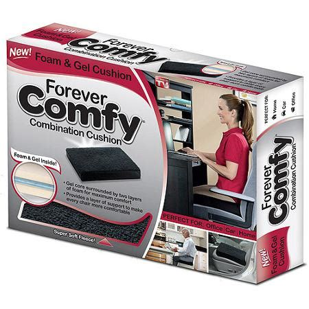 comfy seat as seen on tv forever comfy seat cushion black walmart