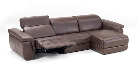 italian recliner sofa lounge style brown contemporary sectionals set baltimore