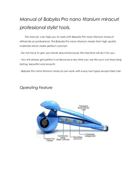 manual of babyliss pro curl doc new