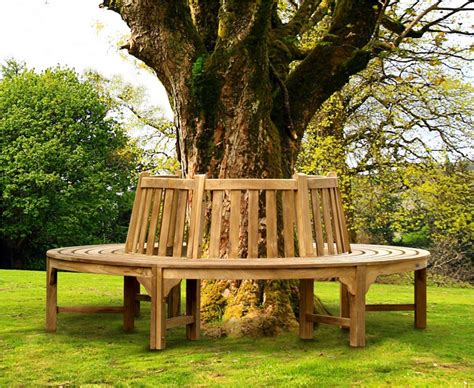 tree and bench teak circular tree bench round circular tree seat