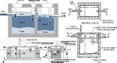 septic tank  dosing siphon dwg block  autocad