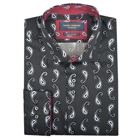 pattern shirts uk guide london mens shirt mens paisley shirts the shirt