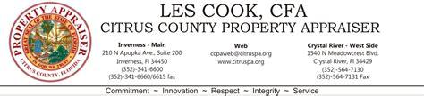 Citrus County Property Records Property Appraiser Citrus County Florida Autos Post