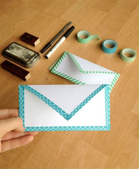 25 best ideas about diy envelope on gift card