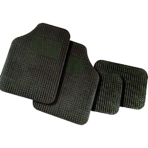 tappeti x auto tappetini in gomma auto 4 pezzi universali nautomoto di
