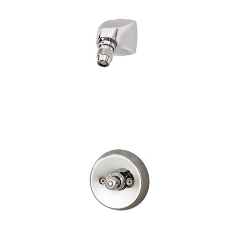 Symmons Metering Faucet by Symmons Showeroff 1 Handle 1 Spray Metering Shower Faucet