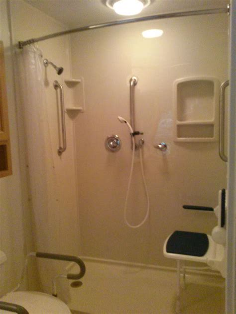 Bath Tubs And Showers shower replaced with walk in shower for seniors