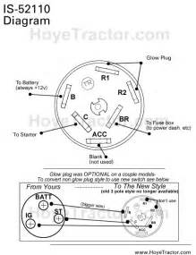 lucas tractor ignition switch wiring diagram harley