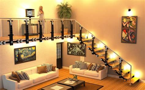 Treppe Im Wohnzimmer by Freitragende Treppe Coole Ideen Archzine Net