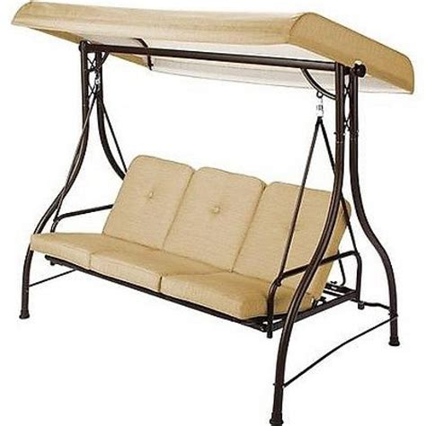 3 seat patio swing with canopy porch swing 3 person canopy duramesh seat seat patio swing