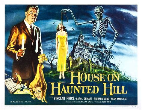The House On Haunted Hill the corner of terror house on haunted hill 1959