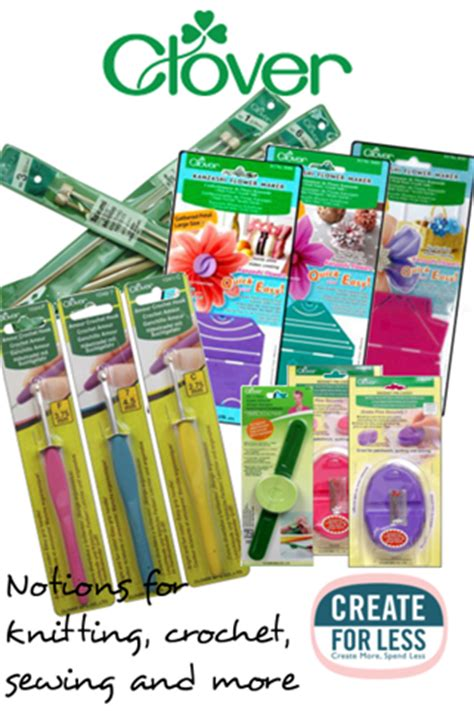 Clover Quilting Supplies by Clover Notions Knitting Crochet And Sewing Tools
