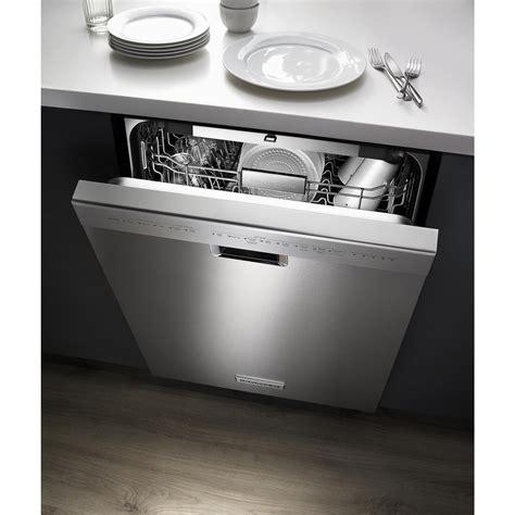 kitchenaid  front control built  dishwasher master