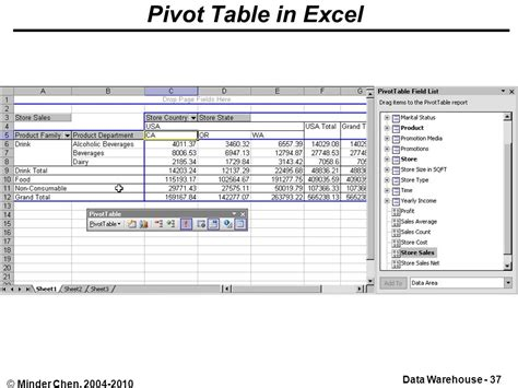 What Are Excel Pivot Tables by Business Intelligence Ppt