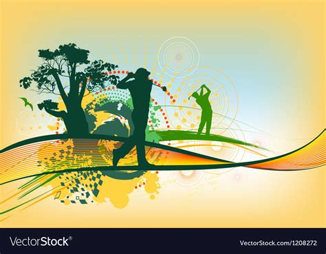 colorful golf colorful golf background royalty free vector image