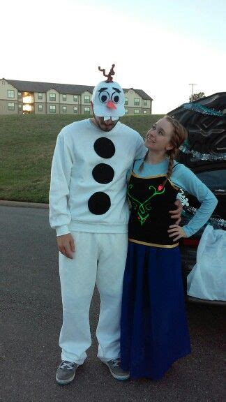 olaf  anna adult costume  bought skirt shirts