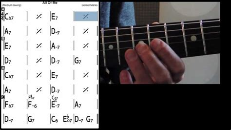 tutorial guitar of all of me all of me guitar lessons tab melody playback youtube