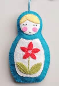 matryoshka doll ornament craft ideas pinterest