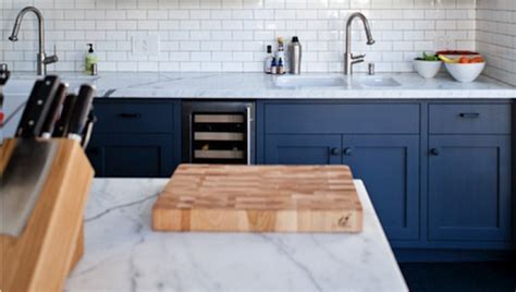 Get The Look: Blue and White Kitchens   Tile Mountain