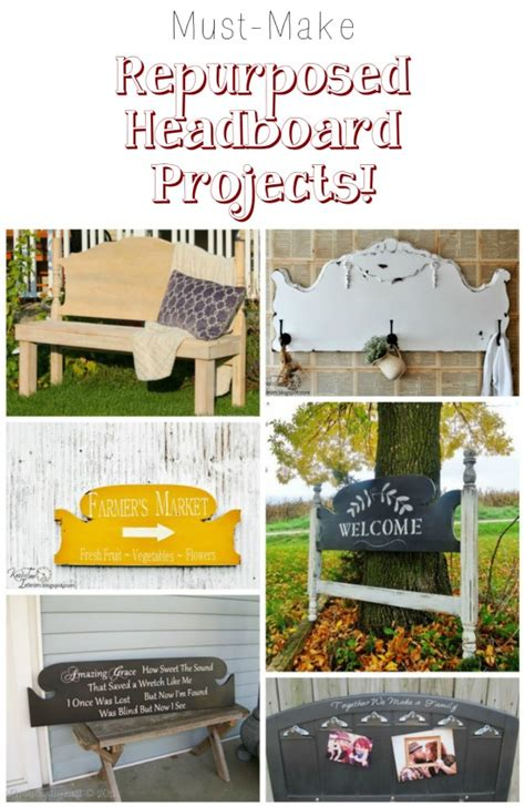 repurposed diy projects how to repurpose headboards into creative new projects