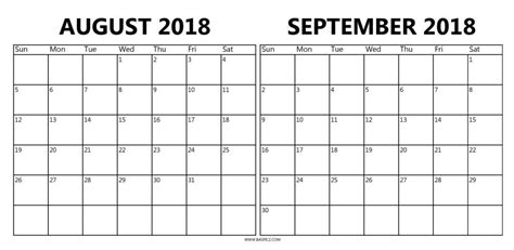 printable calendar september 2017 to august 2018 calendar 2018 august september mathmarkstrainones com