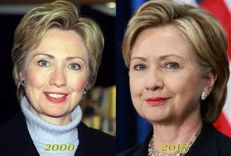 has hillary clinton had cosmetic work done hillary clinton face lift plastic surgery celebrity