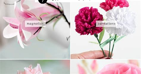 How To Make Realistic Paper Flowers - diy realistic paper flowers my paradissi