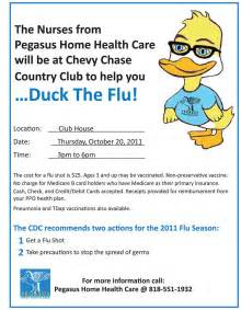 Hutch Chicago Menu Flu Shot Flyer Template Image Mag