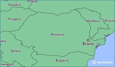 where is braila romania braila braila map