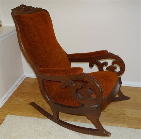 photos antique rocking chairs