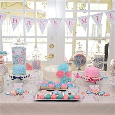 birthday themes for twin boy and girl 28 best images about baby shower for twins on pinterest