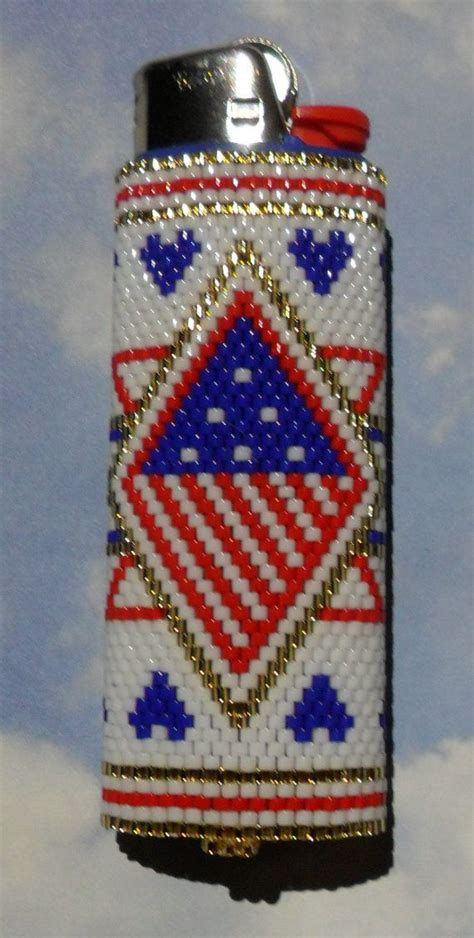 how to make beaded lighter covers 1000 images about beaded lighter covers on