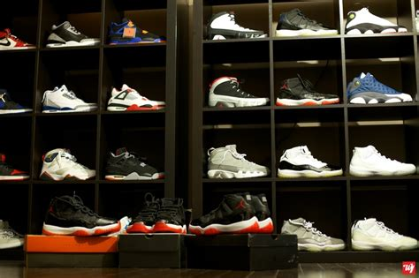 Closet Of Jordans by Air Shoes 1996 2001 2012 Growing Up