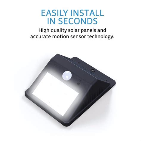 solar motion sensor light outdoor 8 led outdoor solar motion sensor lights solar lights