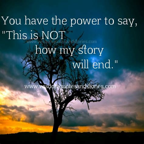 This Is Not Your Story you the power wisdom quotes stories