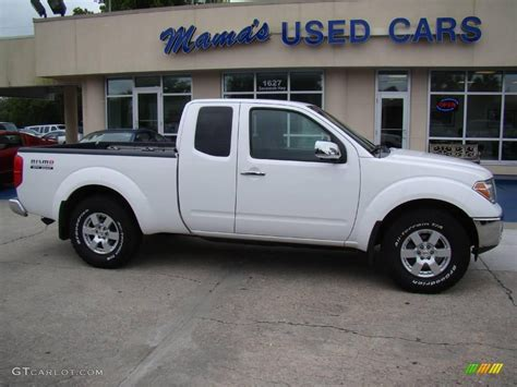 white nissan frontier 2006 avalanche white nissan frontier nismo king cab