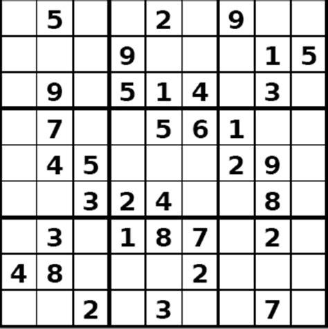 Grille De Sudoku Facile à Imprimer by 301 Moved Permanently