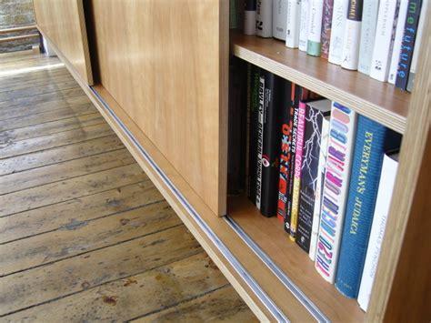 bookcase  sliding doors stonermakes