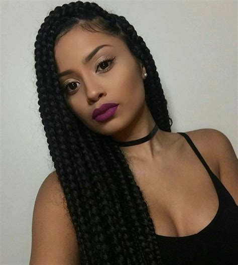 box braids type of hair best 25 poetic justice braids ideas on pinterest jumbo