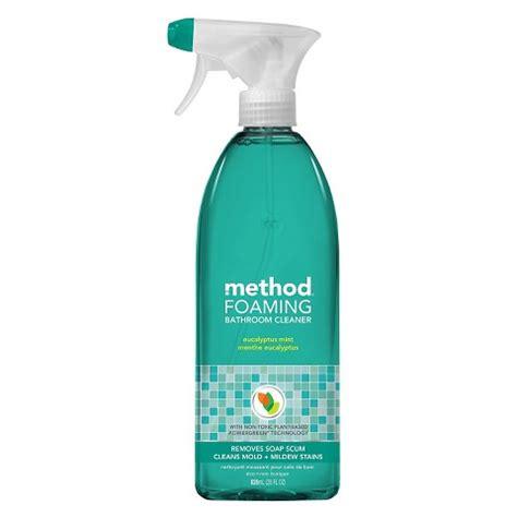 Method Shower Cleaner by Method Foaming Bathroom Cleaner Eucalyptus Mint Target